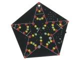 Stavebnice blikající hvězda 60 LED-spíná zvukem