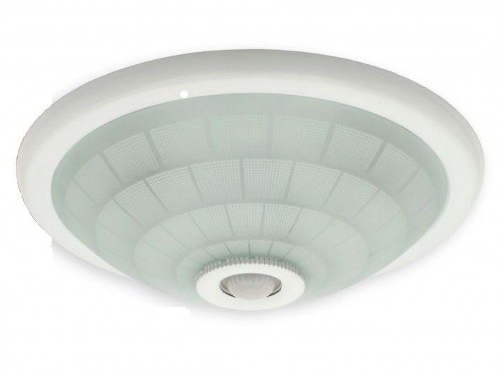 Nástěnné svítidlo světlo pro LED žárovky s pohybovým PIR čidlem - závit 2x E27,@230mm