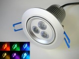 RGB podhledové svítidlo 12W/12V DC+DO