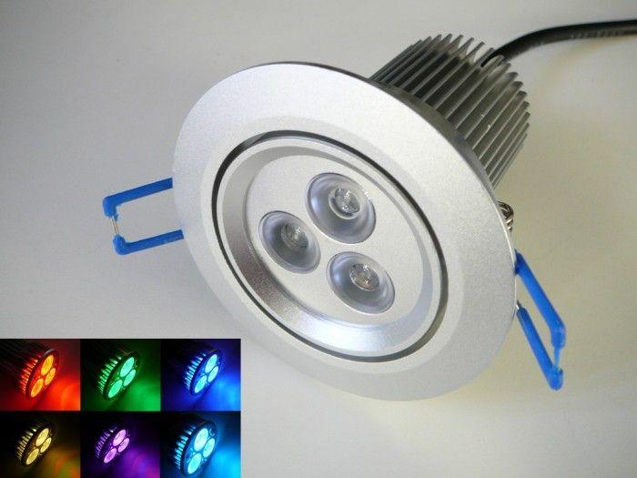 Podhledové svítidlo RGB 12W, 12V DC+dálkový ovladač