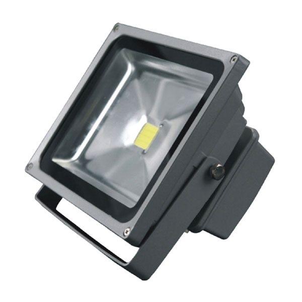 Reflektor LED venkovní 20W 12V, MCOB, šedý