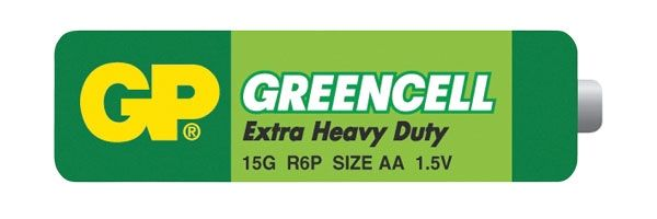 Baterie AA (R6) Greencell GP 1,5V