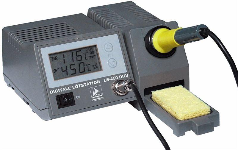 Mikropájka ZD-931 stolní pájecí stanice s regulací teploty 48W, nastavení teploty tlačítky, výměnný hrot, kvalitní provedení