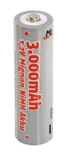 Baterie nabíjecí AA (R06) 3000mAh NiMh McFun Migmom akumulátor