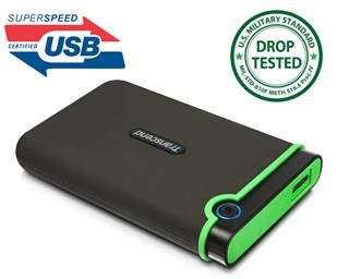 """Transcend StoreJet 25M3 1TB 2,5"""" externí disk, rozhraní USB 3.0"""