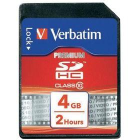 SDHC 32GB CL10 43963 paměťová karta VERBATIM