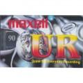 UR-90 audiokazeta Maxell