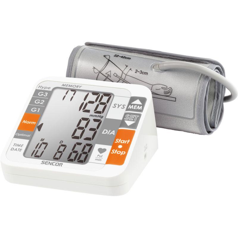 Digitální tlakoměr-měřič krevního tlaku SENCOR SBP 690 s manžetou na paži