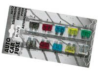 FSNT 19mm standart nožové automobilové pojistky-sada 10ks