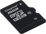 MicroSDHC 16GB CL10 karta KINGSTON + SD adaptér