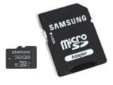 MicroSDHC 32GB CL10 PLUS karta SAMSUMG + SD adaptér