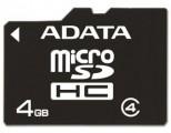 MicroSDHC 4GB CL4 karta ADATA