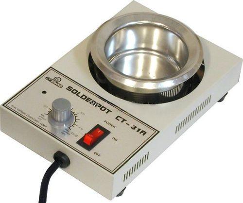 Páječka plotýnka cínovací lázeň CT31 stolní s regulací teploty 300W