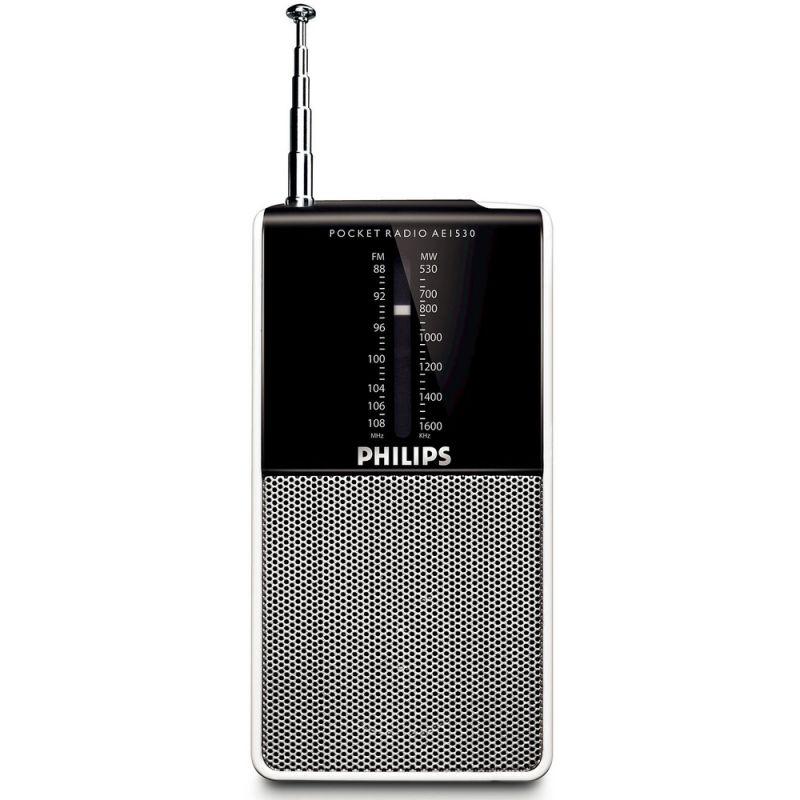 Radiopřijímač kapesní Philips AE 1530 na baterie 2xLR03