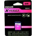 SDHC 8GB CL4 X-series MAXELL karta