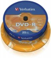 DVD-R 4,7GB, 120min. 16x SPINDL (25pack) VERBATIM