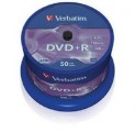 DVD+R 4,7GB, 120min. 16x SPINDL (50pack) VERBATIM