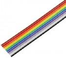 FBK64 kabel plochý barevný