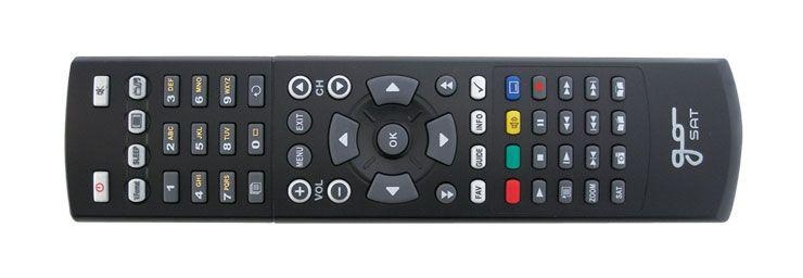Dálkové ovládání GoSAT GS7050, 7055, 7056HDi + tlačítka pro PVR nahrávání