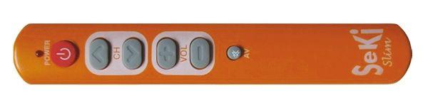 Dálkový univerzální ovladač programovatelný-učící jednoduchý pro seniory,hotely....