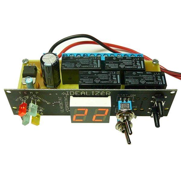 IDEALIZÉR modul T057 vlhkostat + termostat, 4 spínací okruhy