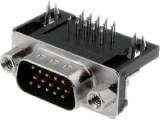 DS15VP390 konektor CANON 15 3ř.vidlice úhlová DPS