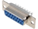 DS15ZK konektor CANON 15pin 2ř. zásuvka kabel