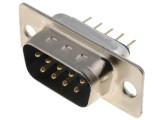 DS09VP konektor CANON 9 vidlice přímá do DPS