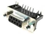 DS09ZP90 konektor CANON 9 zásuvka úhlová