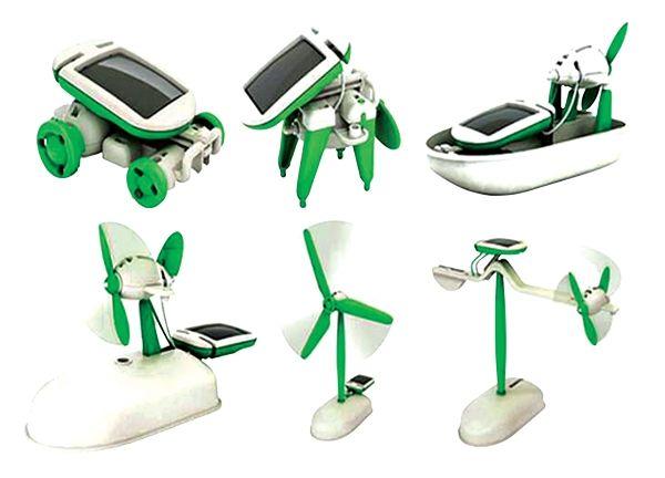 Solární kit-vzdělávcí stavebnice SolarKit 6v1 (Solarbot)