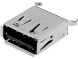 USB konektor A zásuvka do plošného spoje přímá