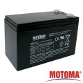 Baterie olověná 12V/7Ah MOTOMA