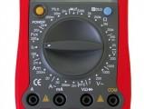 Digitální multimetr UT58D Test tranzistorů Test diod Akustický test Indikátor baterie Sleep mód Data Hold Icon displej Vstupní impedance pro DC napětí: 10 MOhm