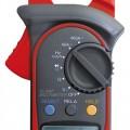 Klešťový multimetr UNI-T UT203 AC i  DC proud, Auto rozsah Test diod Akustický test Zobrazení REL hodnoty Data Hold Icon displej Sleep mód Indikátor baterie Vstupní impedance pro DC napětí: 10 MOhm