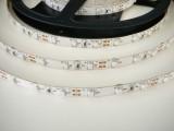 LED pásek vnitřní UV s original UV chipem 4,8W, vnitřní, IP20, 60 LED/m, samolepící 12V cena za 1m, pro osvětlení akvárií, terárií, diskoték či jako černé světlo