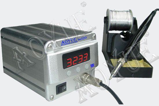 Mikropájka 3233 AOYUE stolní pájecí stanice s digitální regulací teploty pro bezolovnaté pájení 70W, antistatické provedení