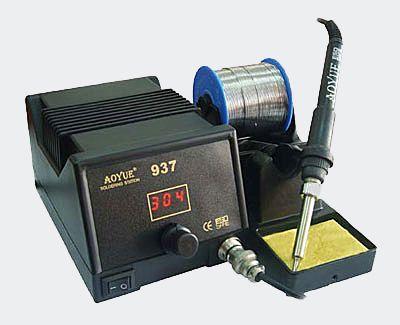 Mikropájka 937 ESD AOYUE stolní pájecí stanice s regulací teploty digitální s mikroprocesorem ESD 45W