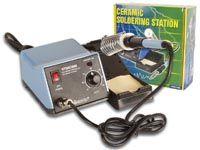 Mikropájka VTSSC50N 48W, profesionální stolní pájecí stanice s elektronickou regulací teploty 150-420°C