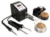 Mikropájka VTSSC72 stolní pájecí stanice s keramickým tělískem 80W a pájecí pinzetou s elektronickou regulací teploty 200 - 480°C a LED displejem, výkon 80W, stojan držák + špony
