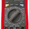 Multimetr UNI-T UT70A digitální RLC odpor, kapacita, indukce, test diod, tranzistorů, akustický