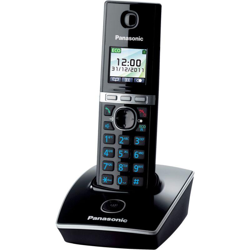 Panasonic KX TG8051FXB DECT přenosný bezdrátový telefon se záznamníkem na pevnou linku