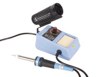 Stolní mikropájka VTSS5 pájecí stanice 50W, s regulací teploty, napájení 230V AC, vyměnitelný hrot