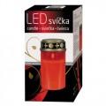 Svítidlo LED svíčka hřbitovní + baterie zdarma LR14