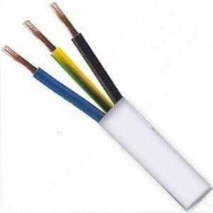 Kabel CYSY 3Gx1,5mm2 (C) ohebný bílý H05VV-F