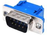 DS09VPK konektor CANON 9 vidlice plochý kabel