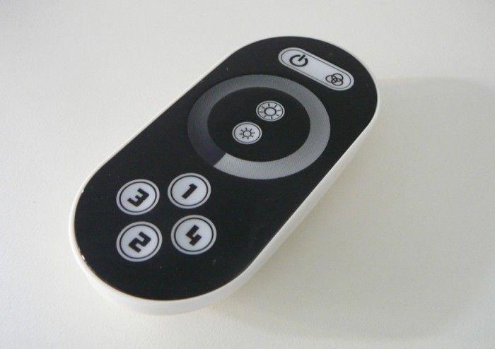 LED ovladač-stmívač RF24 1 kanál, dálkový RF ovladač pro přijímač RF24
