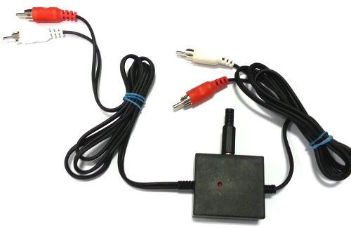 Modul gramo předzesilovače, předzesilovač pro magnetodynamickou přenosku. (Gramofon), oživený sestavený v krabičce s konektory CINCH (vstup i výstup)