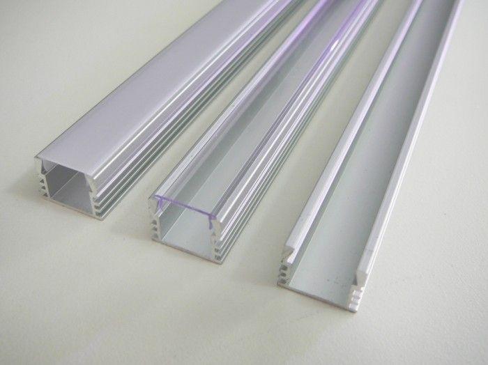 AL lišta profil N7 stříbrný pro LED + plexi k přisazení (bez krytu/čirý/mléčný) 16x12mm délka l=2m (Nadrozměrné zboží-nutné domluvit odběr)