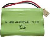 Baterie nabíjecí pack 3xAAA 600mAh 3,6V s vývody