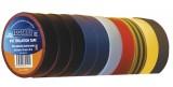 Izolační páska PVC 15/10m mix 10ks